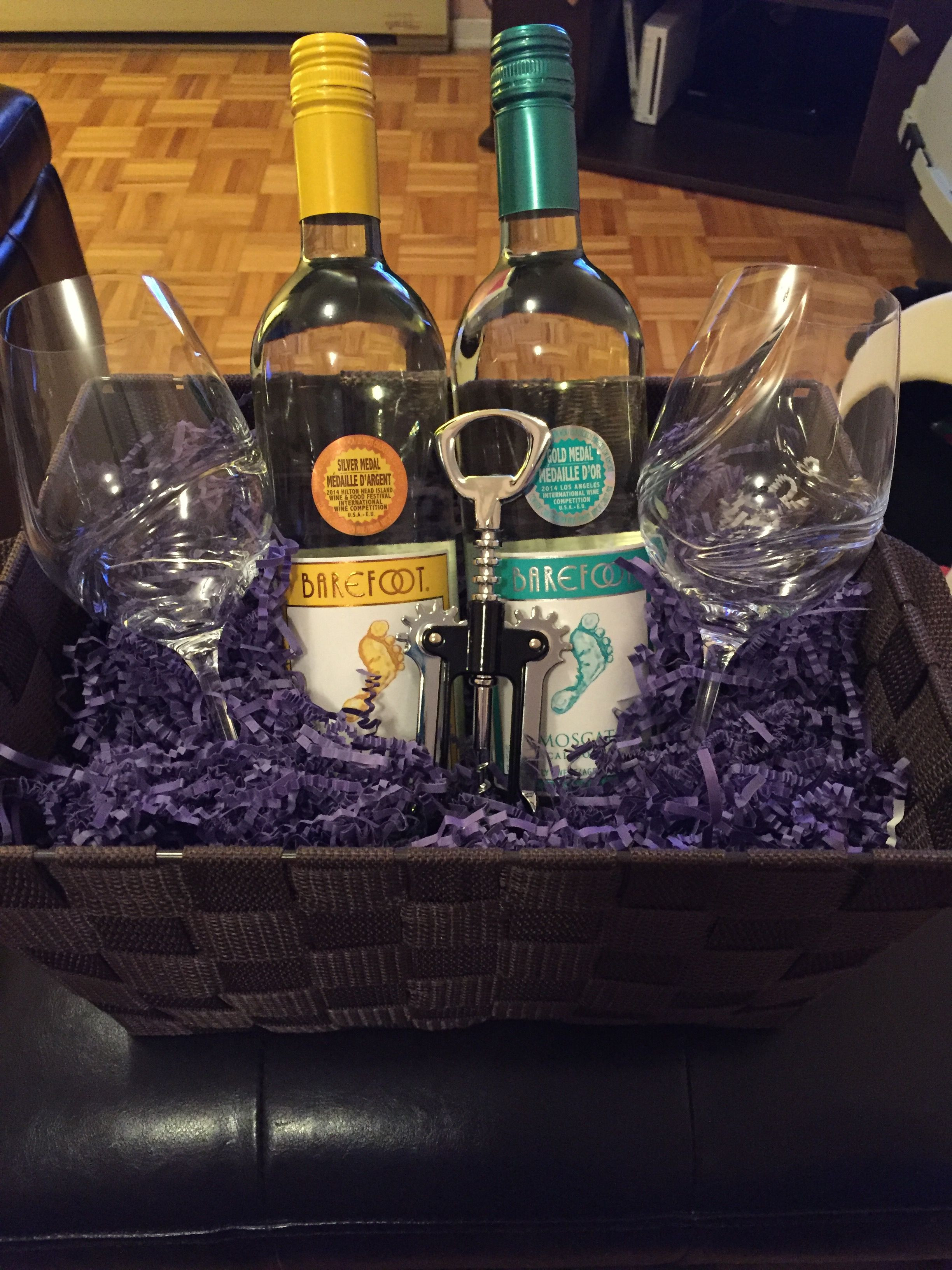 Wine Basket Gift Ideas  Top 5 Ways to Open a Bottle of Wine Without a Corkscrew