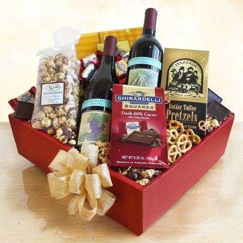 Wine Basket Gift Ideas  25 best ideas about Wine baskets on Pinterest