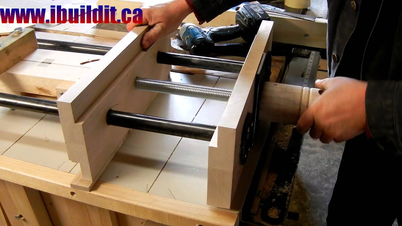 Woodworking Vise DIY  Homemade Woodworking Vise Preview