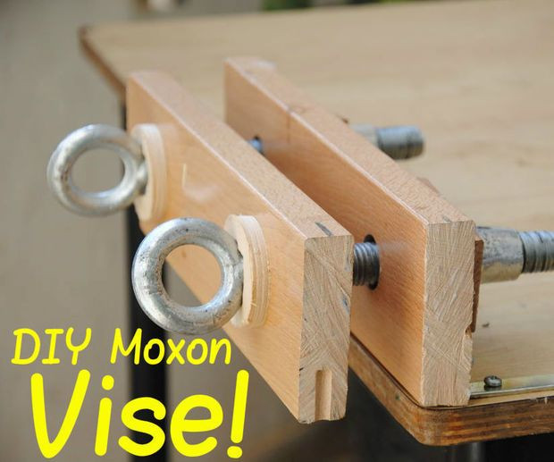 Woodworking Vise DIY  Make Your Own Bench Vise in 2019 Wood working