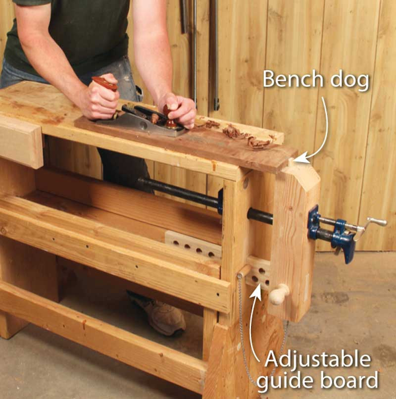 Woodworking Vise DIY  3 Classic Vises made with Pipe Clamps