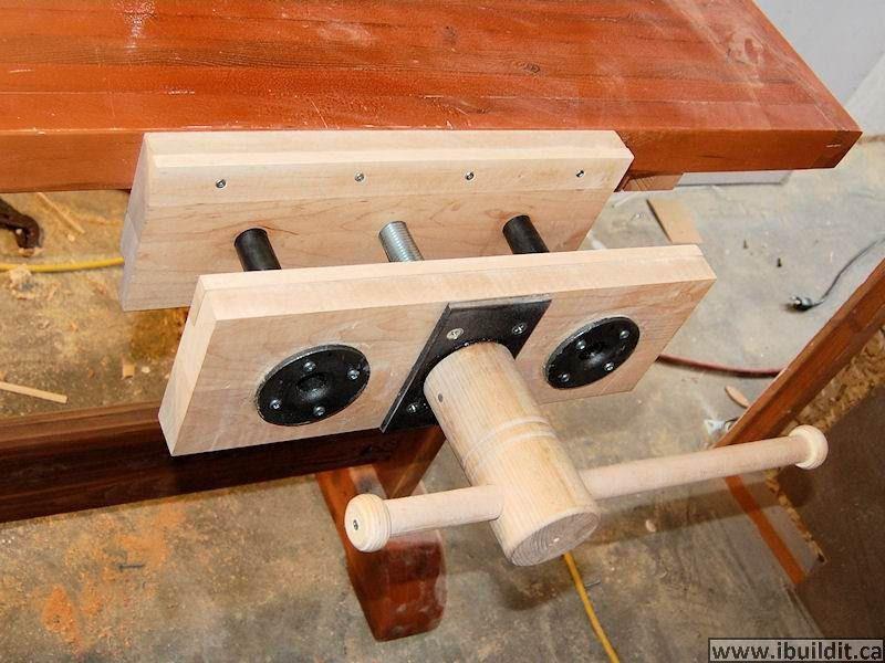 Woodworking Vise DIY  Homemade Woodworking Vise Shop Pinterest
