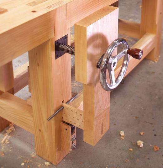 Woodworking Vise DIY  Wood Vise Plans – How To build DIY Woodworking Blueprints