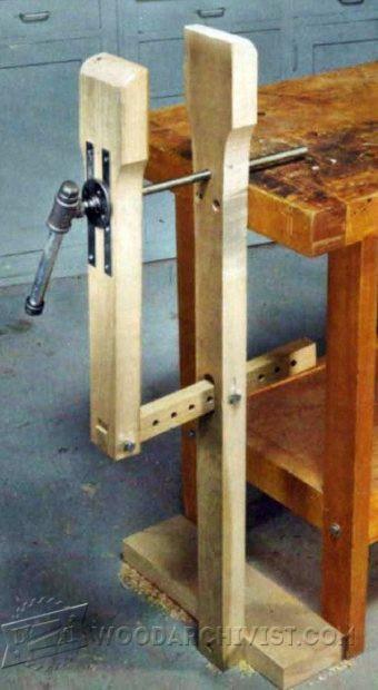 Woodworking Vise DIY  DIY Leg Vise • WoodArchivist