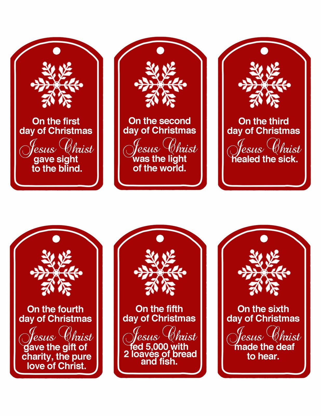 12 Days Of Christmas Gift Ideas For Friends  Family Home Fun Christ Centered 12 Days of Christmas