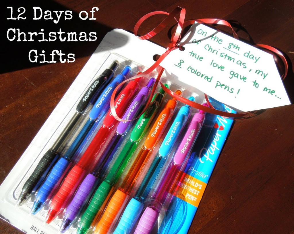 12 Days Of Christmas Gift Ideas For Friends  12 Days of Christmas Gifts Joyfully Prudent