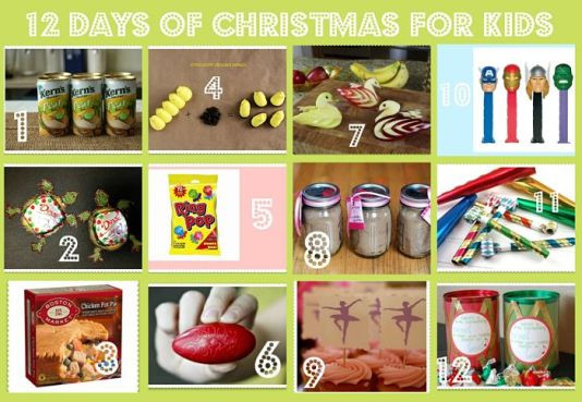 12 Days Of Christmas Gift Ideas For Friends  12 Days of Christmas Gifts for Kids