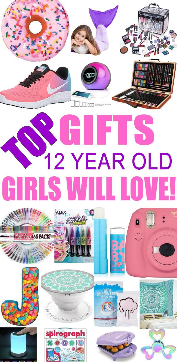 12 Year Old Christmas Gift Ideas  Best Gifts For 12 Year Old Girls