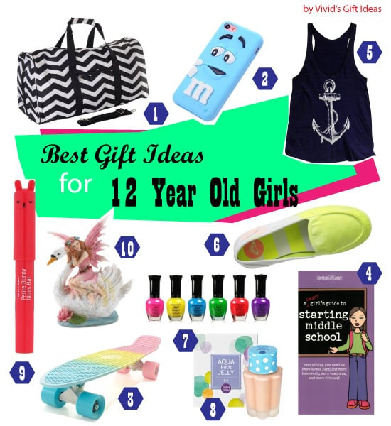 12 Year Old Christmas Gift Ideas  List of Good 12th Birthday Gifts for Girls