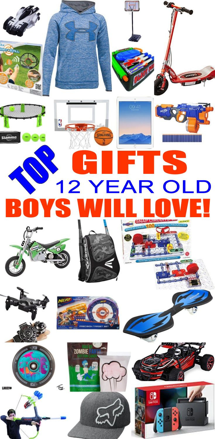 12 Year Old Christmas Gift Ideas  Best Gifts For 12 Year Old Boys