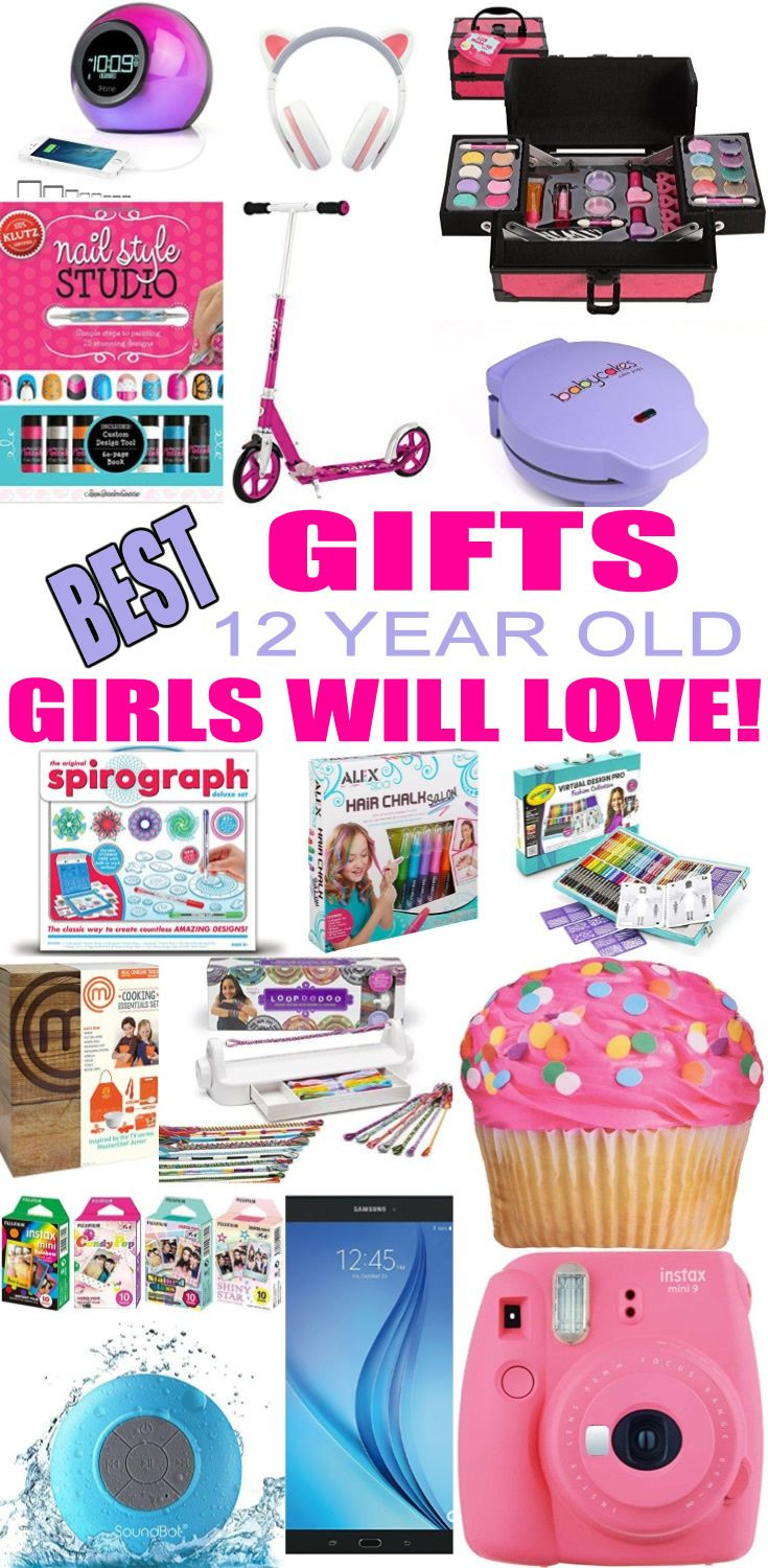 12 Year Old Christmas Gift Ideas  Best Toys for 12 Year Old Girls