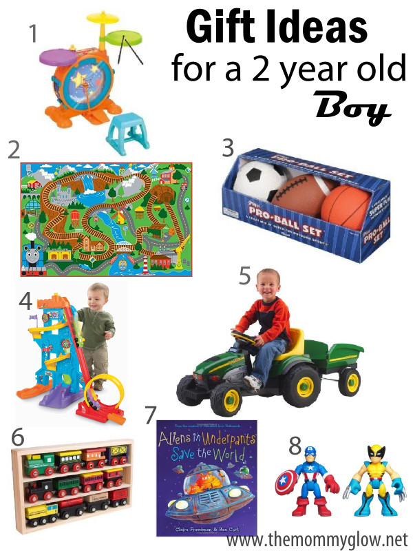 2 Year Old Christmas Gift Ideas  The Mommy Glow Gift Ideas for a 2 year old boy