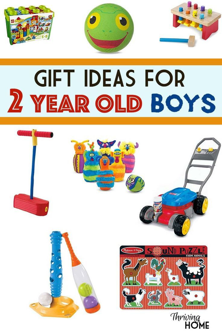2 Year Old Christmas Gift Ideas  A great collection of t ideas for two year old boys