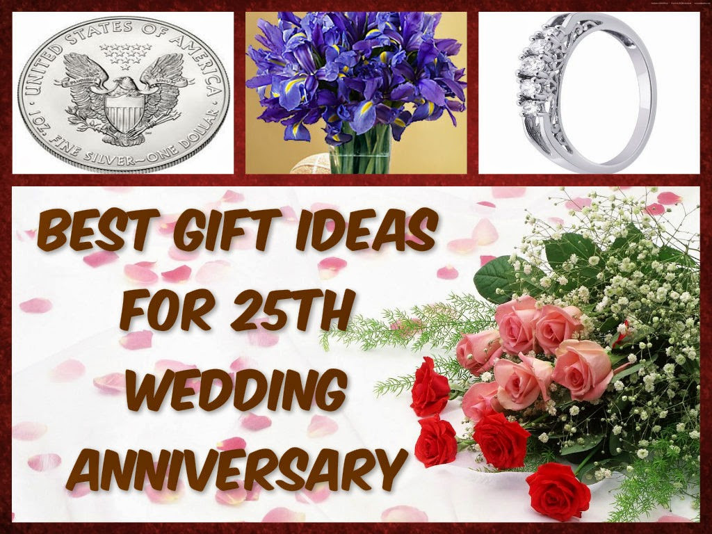 25Th Wedding Anniversary Gift Ideas For Wife  Wedding Anniversary Gifts Best Gift Ideas For 25th