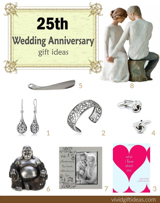 25Th Wedding Anniversary Gift Ideas For Wife  25th Wedding Anniversary Gift Ideas Vivid s Gift Ideas