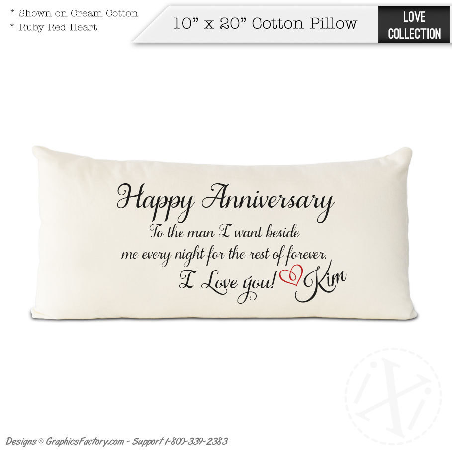 2Nd Anniversary Gift Ideas For Him  2nd anniversary cotton t t for him Cotton by
