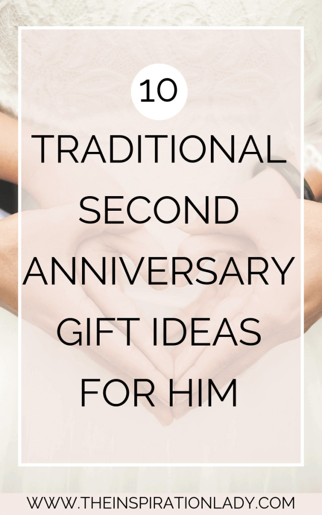 2Nd Anniversary Gift Ideas For Him  10 Traditional Cotton Second Anniversary Gift Ideas for
