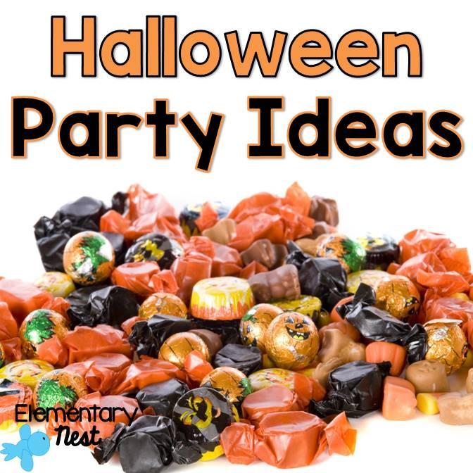 2Nd Grade Halloween Party Ideas  Second Grade Nest Halloween Party Ideas