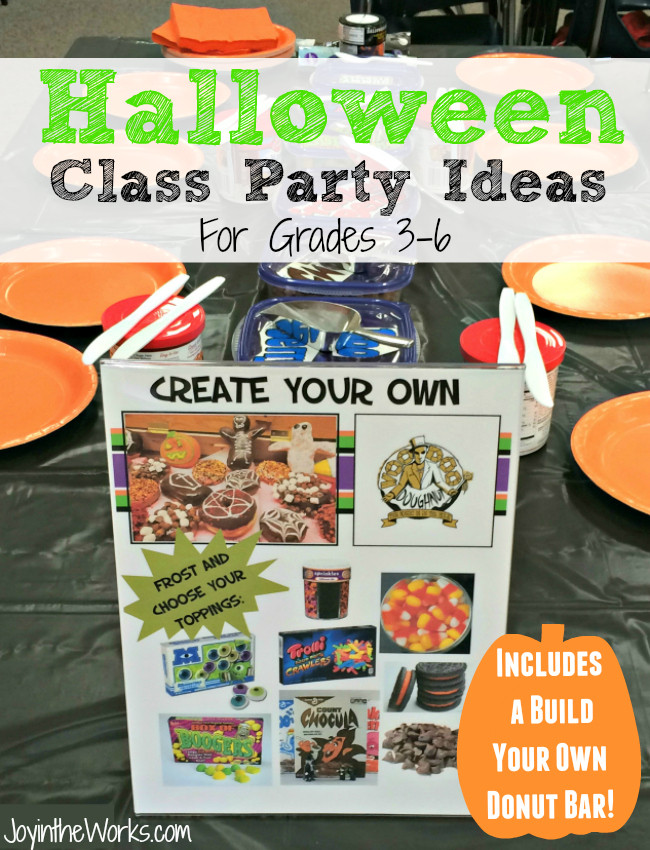 2Nd Grade Halloween Party Ideas  Halloween Class Party Ideas Grades PreK 2nd Joy in the Works
