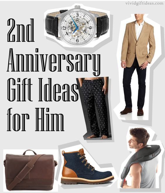 2Nd Wedding Anniversary Gift Ideas  2nd Anniversary Gifts For Husband
