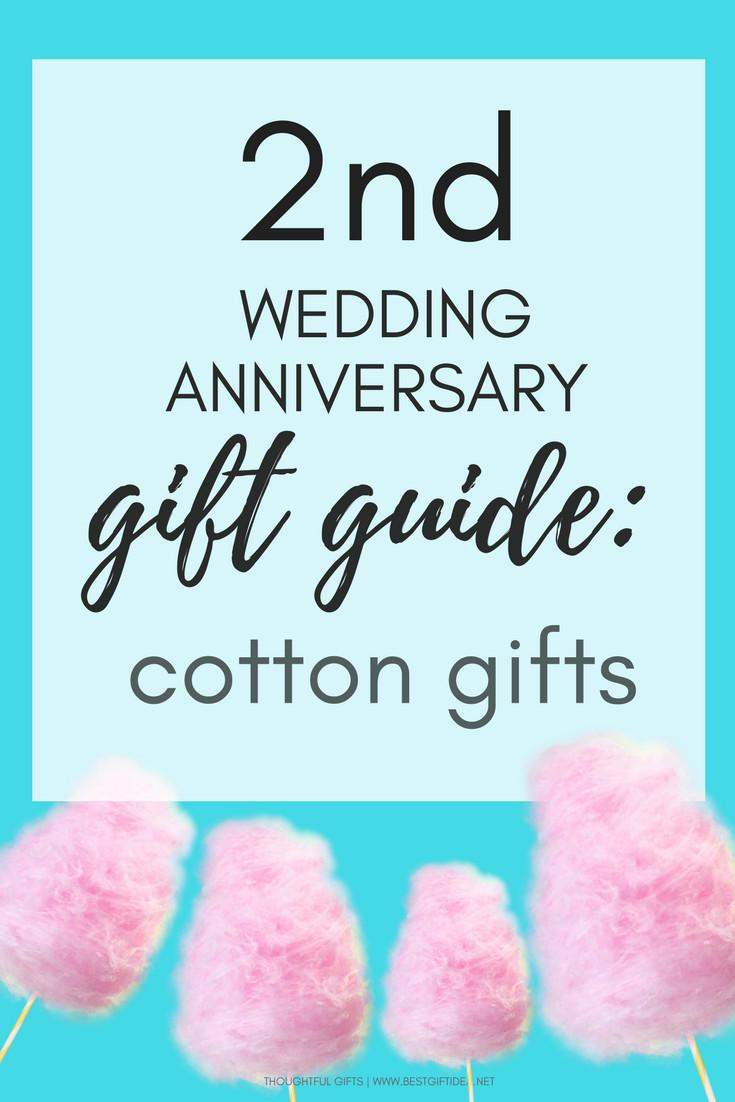 2Nd Wedding Anniversary Gift Ideas  Best Gift Idea Second Wedding Anniversary Gift Guide