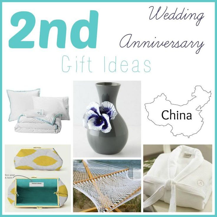 2Nd Wedding Anniversary Gift Ideas  17 Best ideas about Second Anniversary Gift on Pinterest