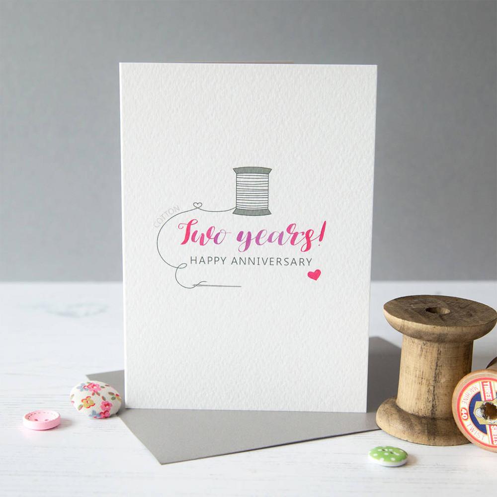 2Nd Wedding Anniversary Gift Ideas  Second Wedding Anniversary Gift Guide Cotton Gift Ideas