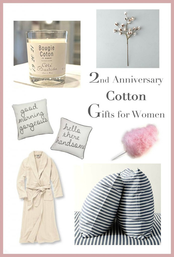 2Nd Wedding Anniversary Gift Ideas  2nd Anniversary Gifts for Her — Runway Chef