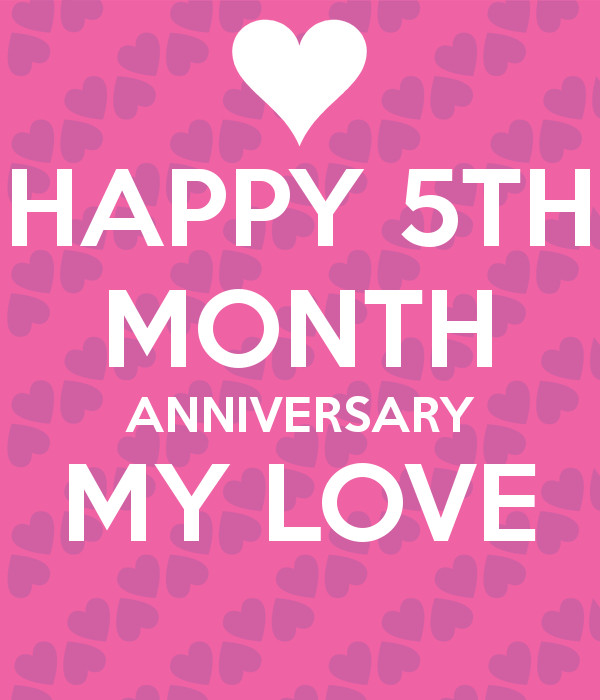 5 Month Anniversary Quotes  Happy 5th Anniversary Quotes QuotesGram