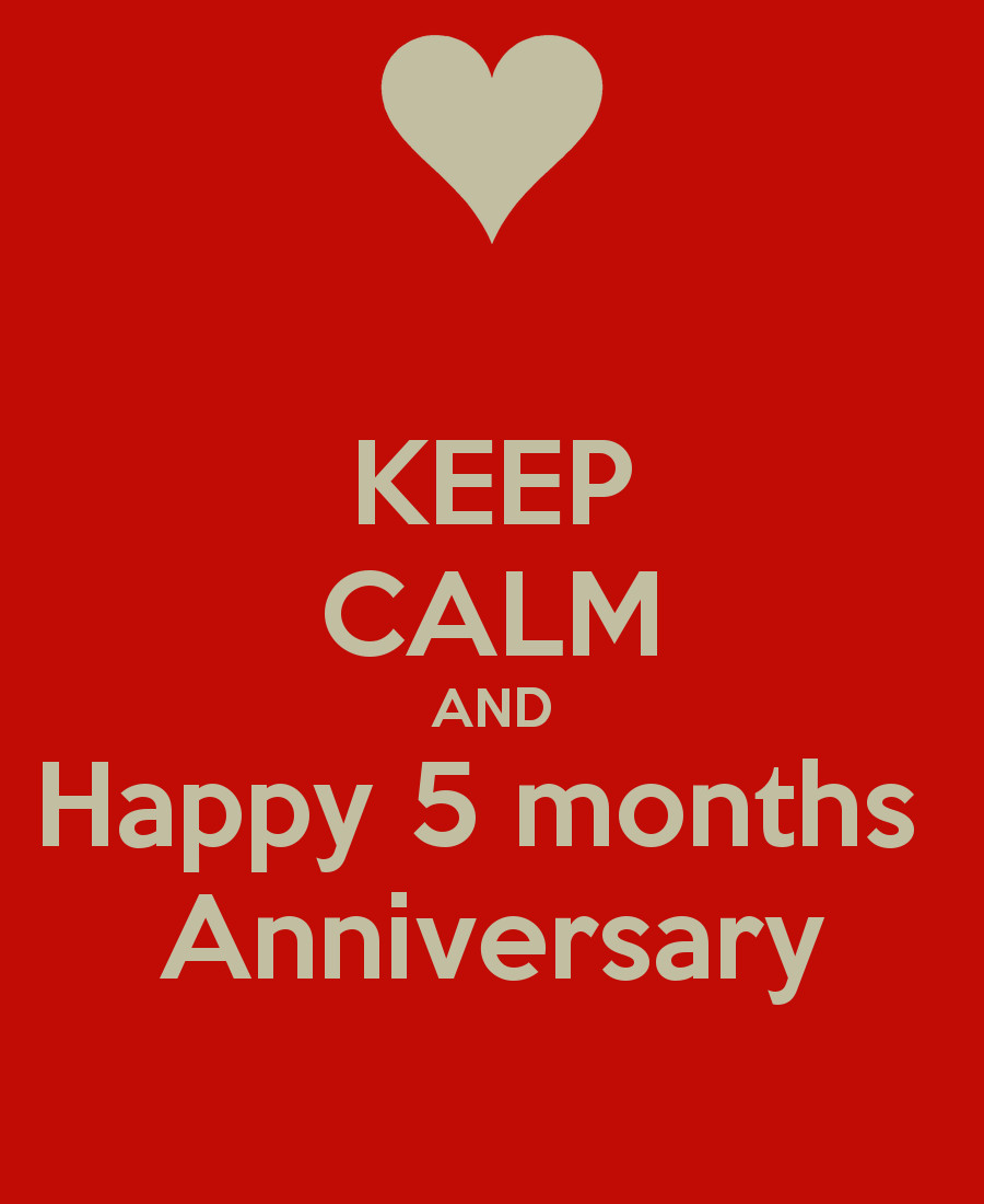 5 Month Anniversary Quotes  Five Months Anniversary Quotes Happy QuotesGram