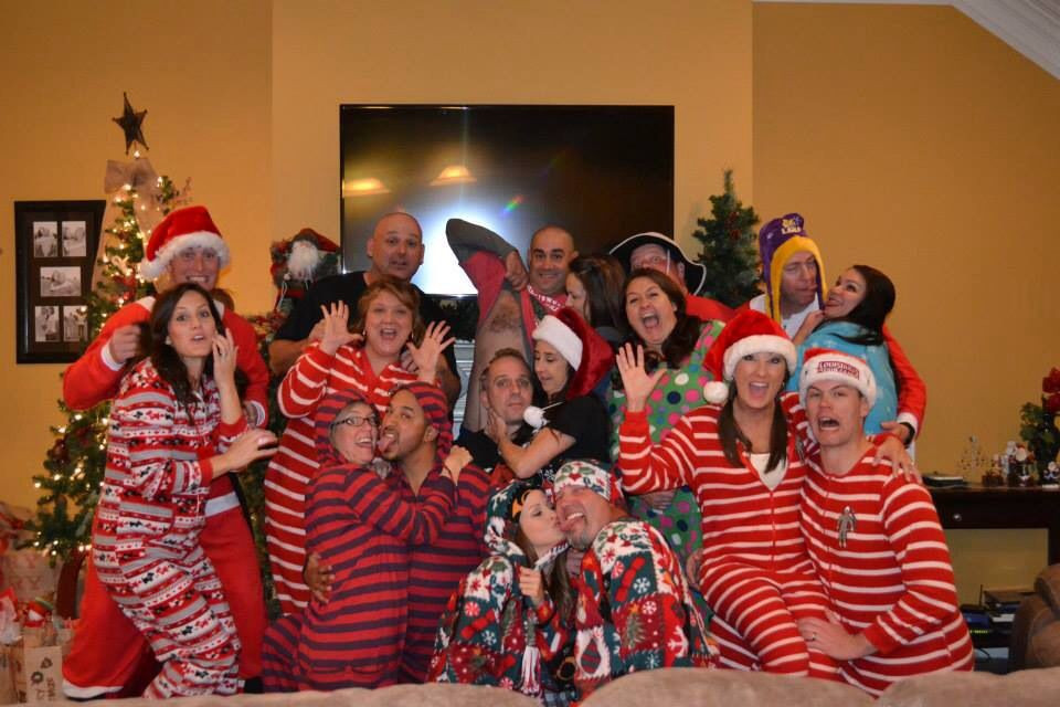 Adult Christmas Party Ideas  Christmas pajama party Adult only