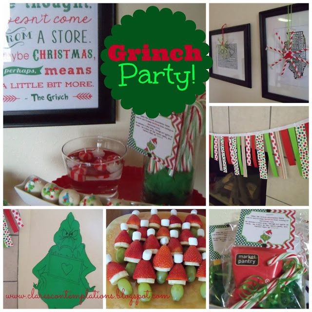 Adult Christmas Party Ideas  1307 best How the Grinch Stole Christmas images on