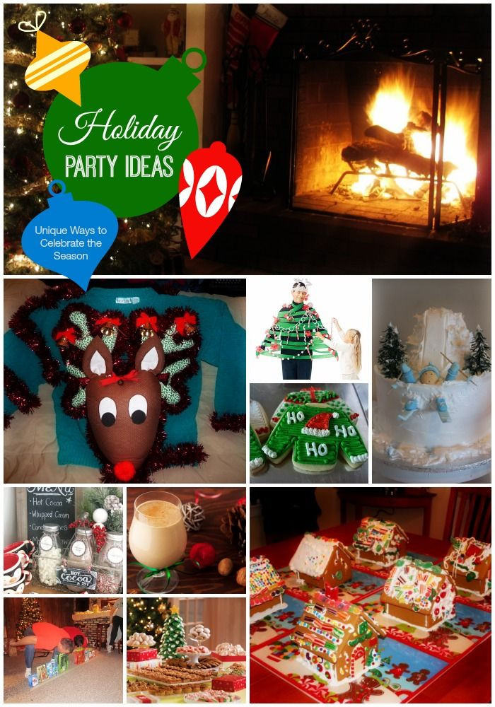 Adult Christmas Party Ideas  Holiday Party Themes Unique Ways to Celebrate the Season
