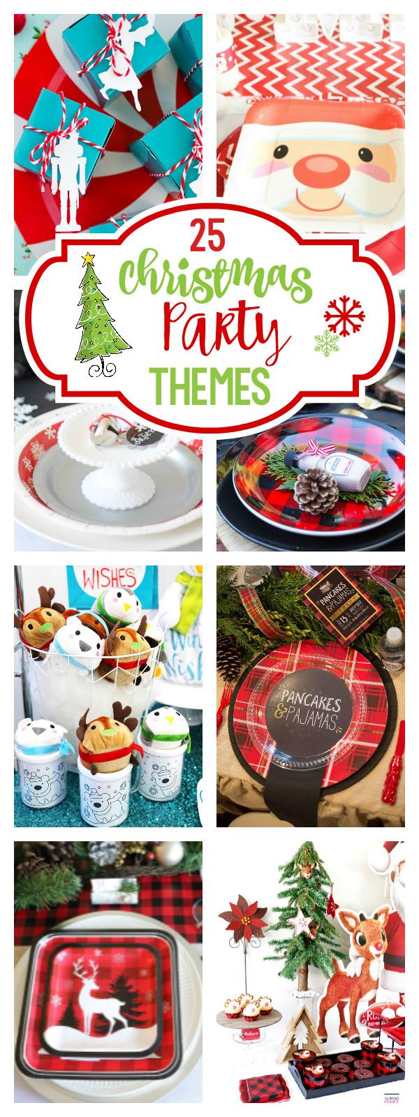 Adult Christmas Party Ideas  25 Fun Christmas Party Theme Ideas – Fun Squared
