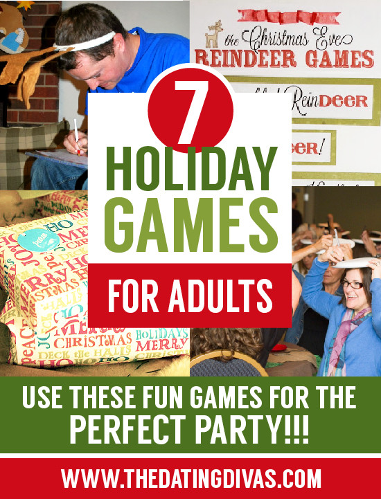 Adult Christmas Party Ideas  50 Amazing Holiday Party Games Christmas Party Games for