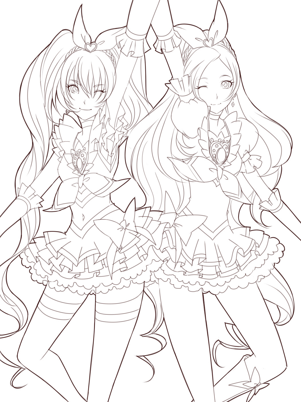Anime Coloring Pages Printable  anime coloring pages free coloring pages for kids 6