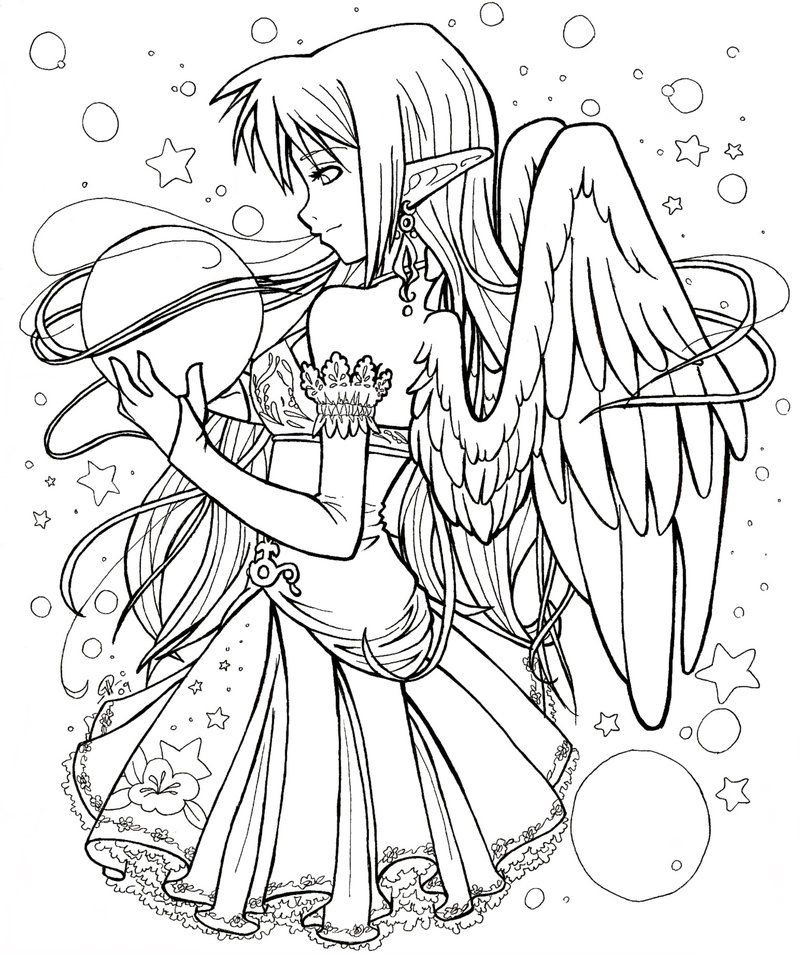 Anime Coloring Pages Printable  Anime Coloring Pages Best Coloring Pages For Kids