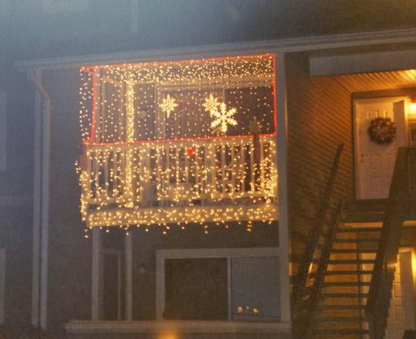 Apartment Patio Christmas Decorating Ideas  Balconies Christmas