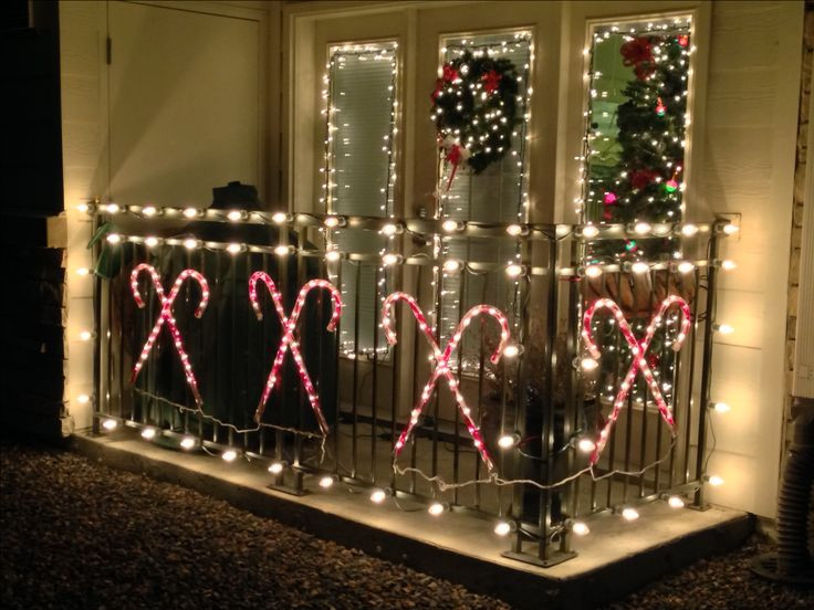 Apartment Patio Christmas Decorating Ideas  7 best Christmas balcony images on Pinterest