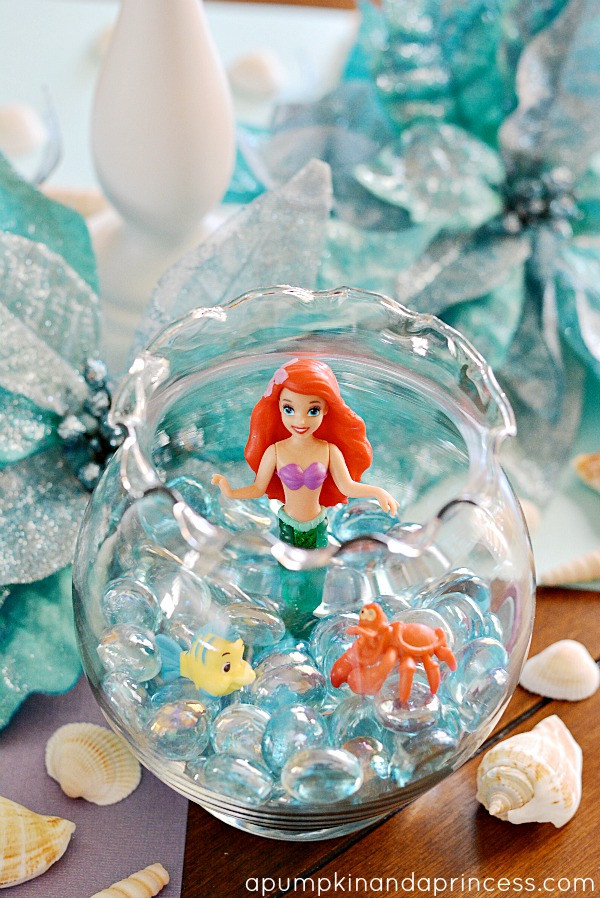 Ariel Little Mermaid Party Ideas  The Little Mermaid Party A Pumpkin And A Princess