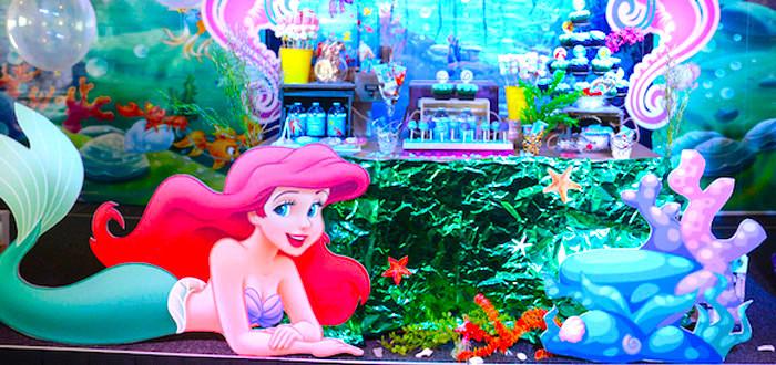 Ariel Little Mermaid Party Ideas  Kara s Party Ideas Little Mermaid Party Ideas Archives
