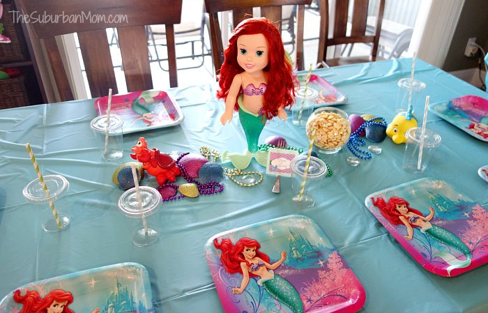 Ariel Little Mermaid Party Ideas  The Little Mermaid Ariel Birthday Party Ideas Food