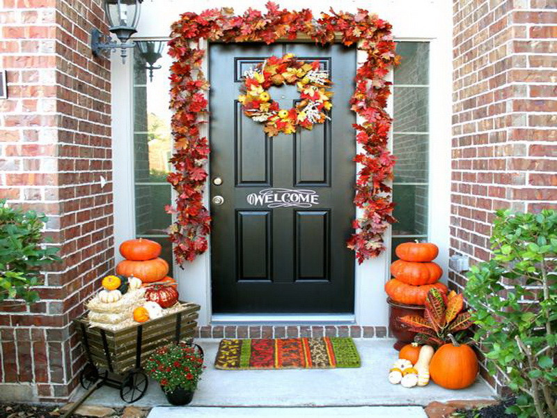 At Home Fall Decor  Fall Decorations Home 2838
