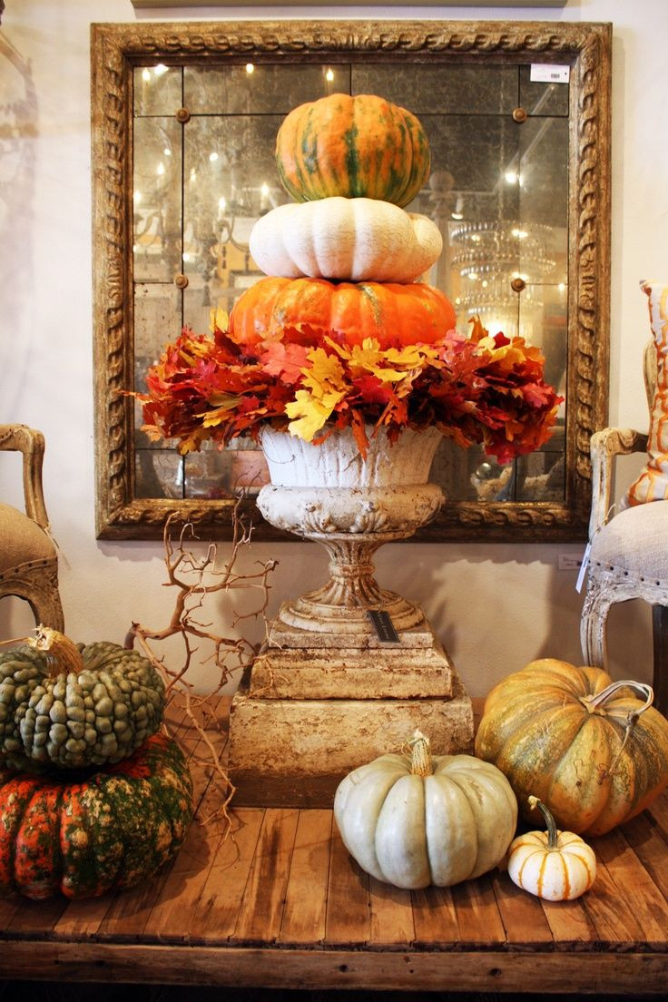 At Home Fall Decor  Tabulous Design 7 Fall Leaf Decorating Ideas