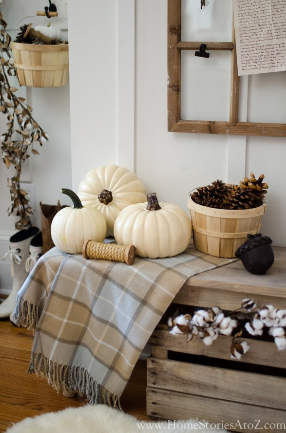At Home Fall Decor  7 Tips to Creating Simple Seasonal Vignettes