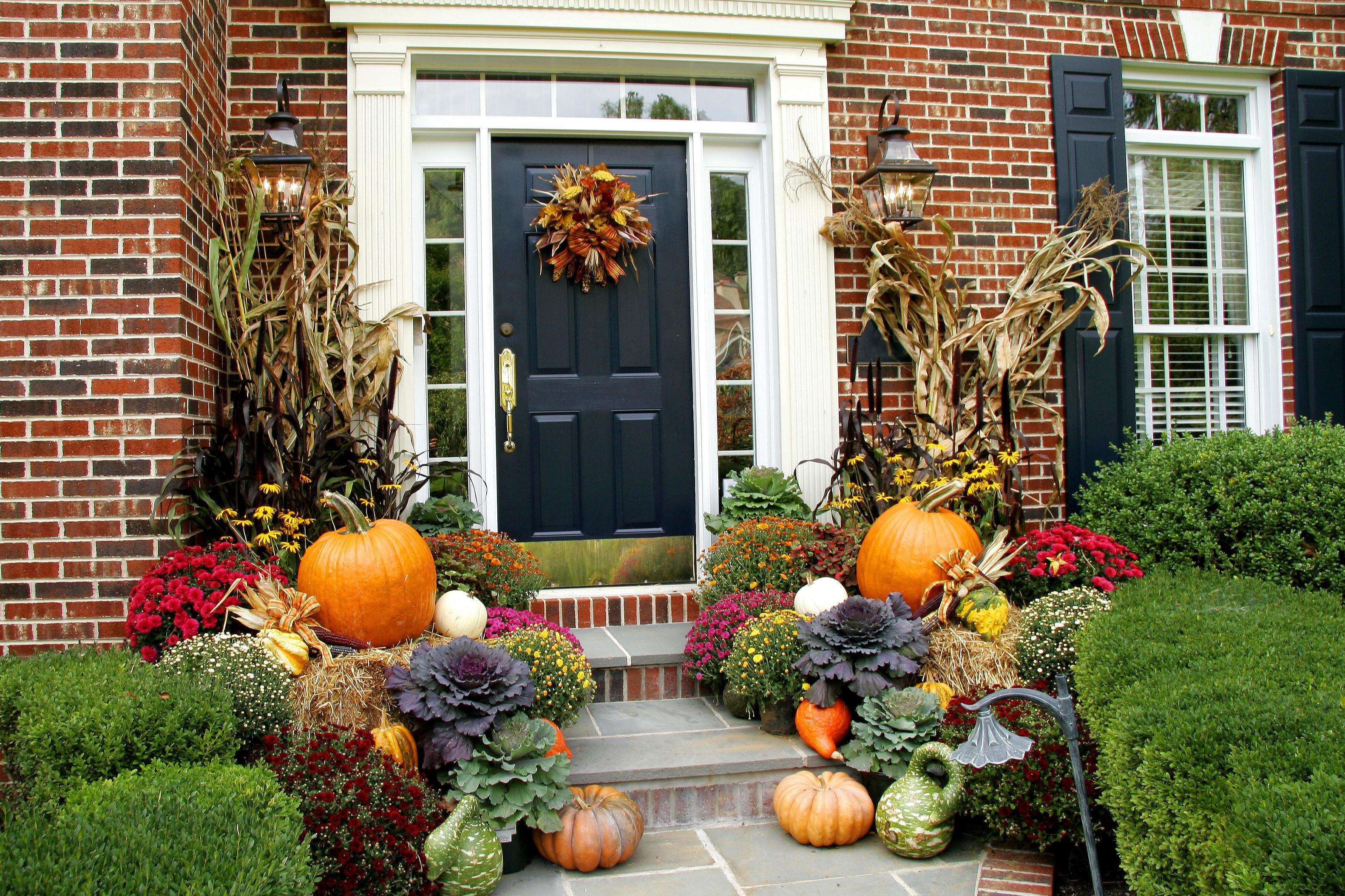 At Home Fall Decor  fall decorating ideas Archives Lombardo Homes