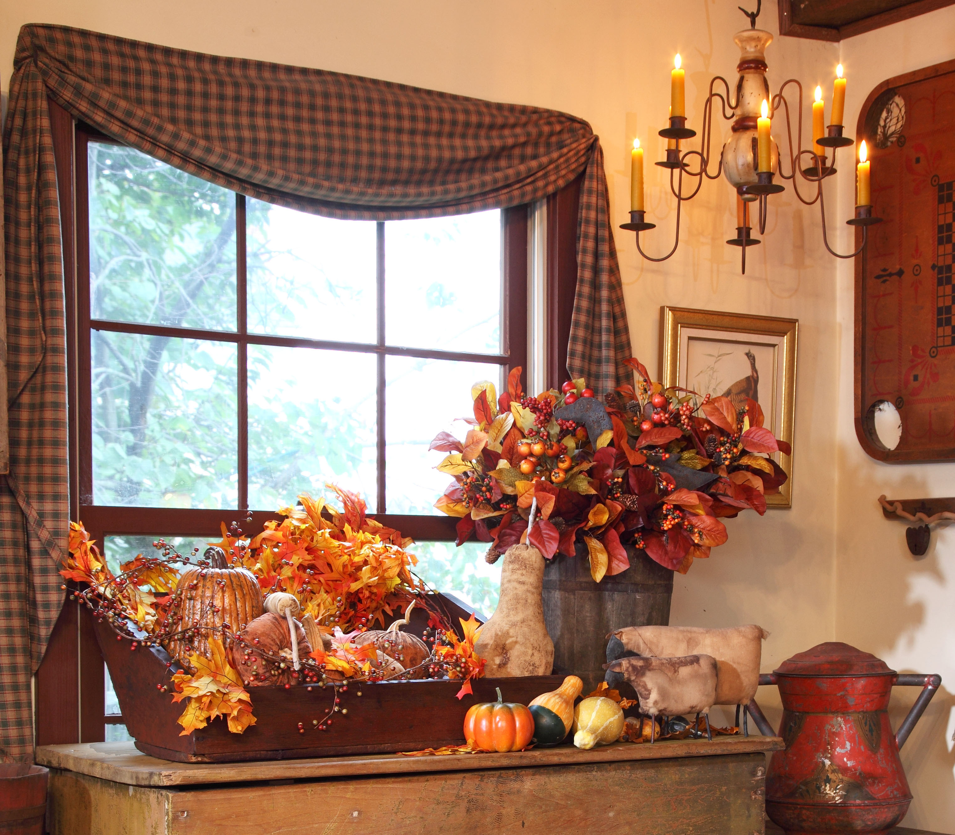 At Home Fall Decor  3 Quick Fall Decorating Tips