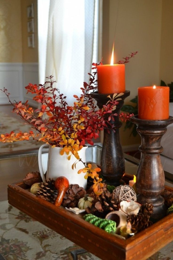At Home Fall Decor  Source pinterest