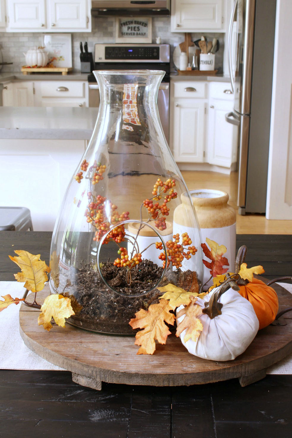 At Home Fall Decor  Fall Home Decor Ideas Fall Home Tours Clean and Scentsible