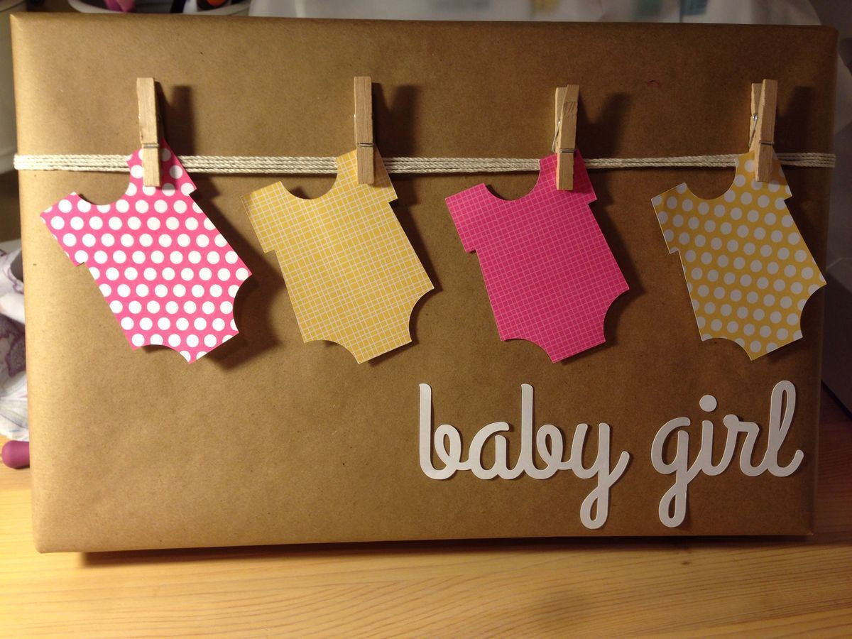 Baby Gift Wrapping Ideas  Baby shower t wrap If any one knows the original